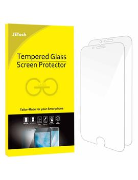 jetech-screen-protector-for-apple-iphone-8-and-iphone-7-tempered-glass-film,-2-pack by amazon