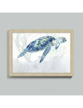 watercolor-sea-turtle-art by ballard-designs