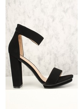 sexy-black-open-toe-platform-chunky-high-heels-nubuck by ami-clubwear
