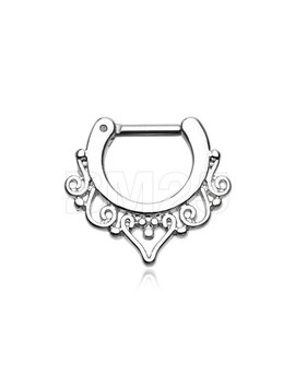 goddess-filigree-septum-clicker by etsy