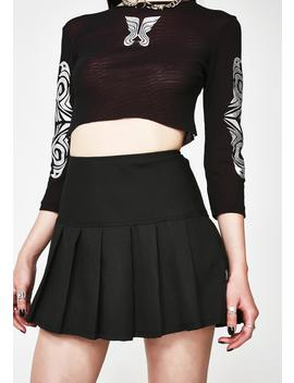midnight-pleated-mini-skirt by tripp-nyc