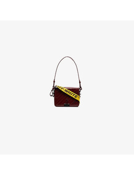 red-mini-padded-leather-shoulder-bag by off-white