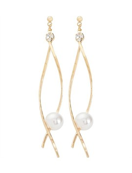 twist-earring-with-pearl by gregory-ladner