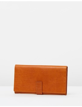 leather-travel-wallet-with-tab-closure by loop-leather-co