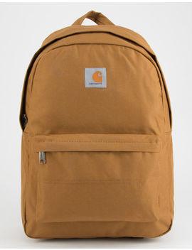 carhartt-trade-carhartt-brown-backpack by carhartt
