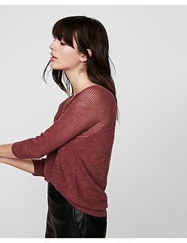 hi-lo-mix-stitch-sweater by express
