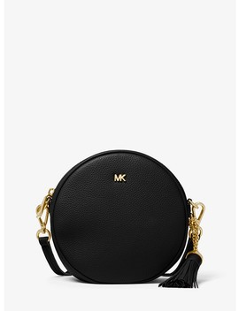 Pebbled Leather Canteen Crossbody by Michael Michael Kors