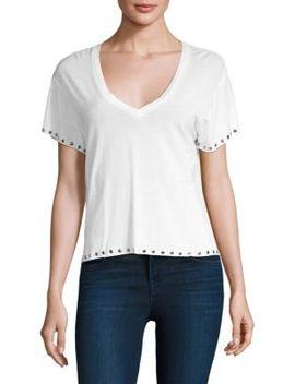 v-neck-tee-shirt by monrow