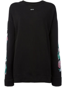tulip-print-sweatshirt by off-white
