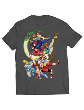 ladies-of-street-fighter-alpha-3-t-shirt by etsy