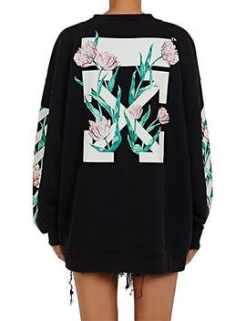 tulip-graphic-cotton-terry-oversized-sweatshirt by off-white-c_o-virgil-abloh