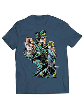 jojos-bizarre-adventure-jotaro-kujo-t-shirt by etsy
