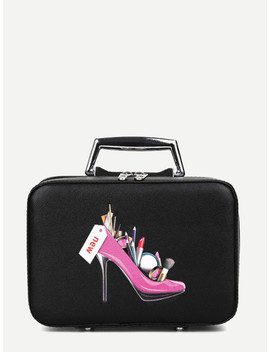 print-detail-clutch-bag by sheinside