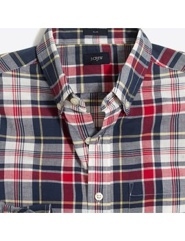 Slim Madras Shirt by J.Crew
