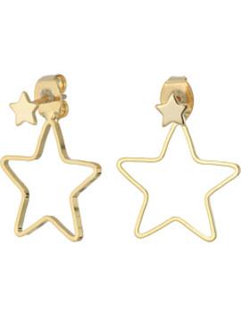 Open Star Jacket Earrings by Shashi