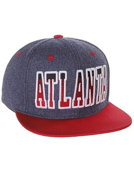 american-cities-block-letters-flat-bill-snapback-cap-hat-snap-back by american-cities