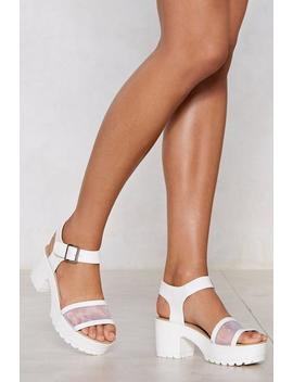 no-time-to-mesh-around-sandal by nasty-gal