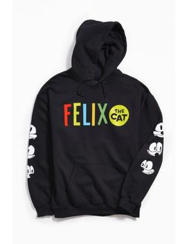 felix-the-cat-hoodie-sweatshirt by urban-outfitters