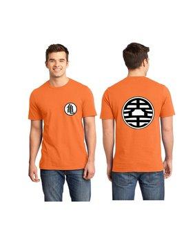 both-side-tee-dragonball-z-dbz-kame-symbol-goku-costume-orange-adult-shirt-s-5xl by etsy