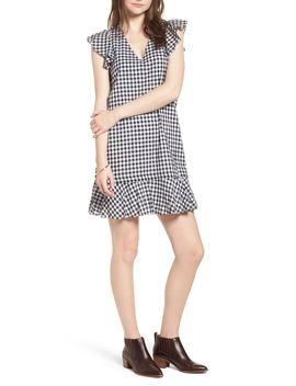 ruffle-gingham-shift by madewell