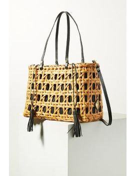 aranaz-woven-charlie-tote-bag by aranaz