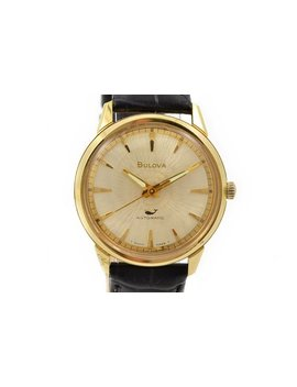 vintage-bulova-seawhale-king-gold-plated-mens-automatic-watch-1279----offers-welcome! by etsy