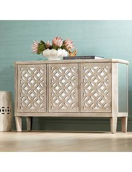 charly-natural-whitewash-3-door-lattice-accent-cabinet by lamps-plus