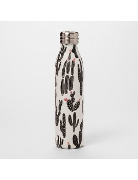 20oz-venti-air-transfer-stainless-steel-portable-water-bottle-black_white-cactus---room-essentials by room-essentials
