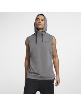 nike-dri-fit-hooded-mens-sleeveless-training-top-nikecom-ca by nike