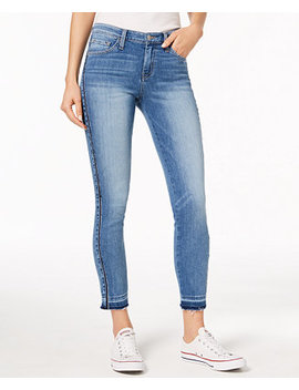 released-hem-skinny-jeans by flying-monkey