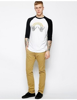 vans-baseball-top-with-double-shaka by vans