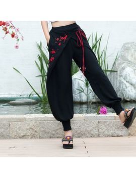 embroidered-harem-pants by mida-mida