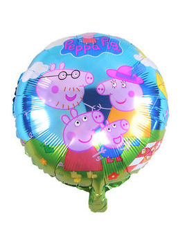 Peppa Pig Family Helium Foil Balloon (45cm/18'') (Buy 4 &Amp; Get 1 Free) by Ugs