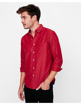 Slim Soft Wash Button Down Shirt by Express