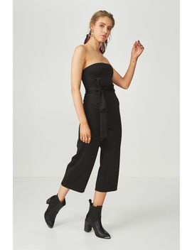 fitted-strapless-jumpsuit by supre
