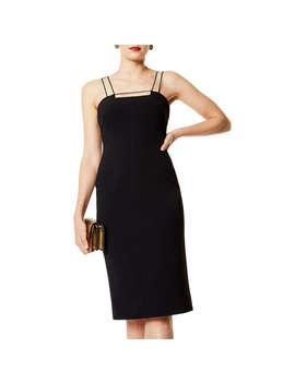 karen-millen-strappy-dress,-black by karen-millen