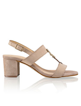 block-heel-trim-sandal by trove