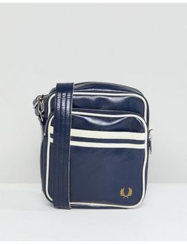 fred-perry-classic-flight-bag-in-navy by fred-perry