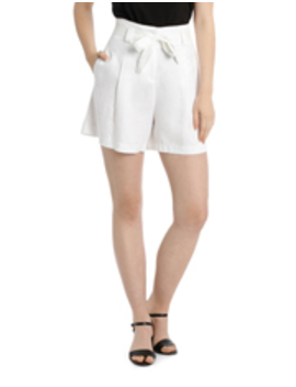 tie-waist-drape-short by trent-nathan