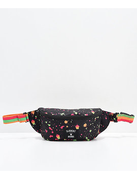 acembly-x-slushcult-splatter-stripe-fanny-pack by hex