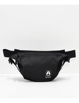 nixon-trestles-black-fanny-pack by nixon-watches