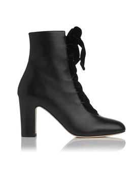 Maxine Black Ankle Boots by L.K.Bennett