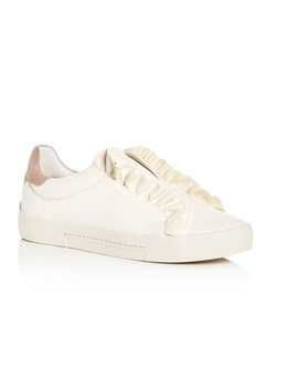 joie-daw-ruffle-leather-slip-on-sneakers   nwt by joie