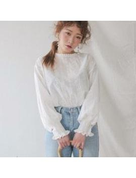 stylenanda-lace-top by stylenanda