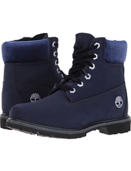 """6"""" Premium Leather And Fabric Waterproof Boot by Timberland"""
