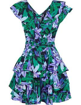 maisie-ruffled-floral-print-cotton-poplin-mini-dress by marissa-webb