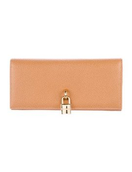dolce-&-gabbana-leather-continental-wallet by dolce-&-gabbana