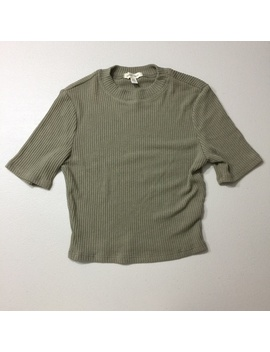 silence-and-noise-ribbed-shirt by silence-+-noise