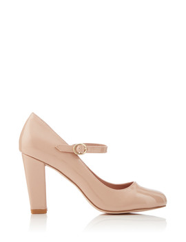 cassidy-nude-leather-mary-jane-heels by miss-kurt-geiger