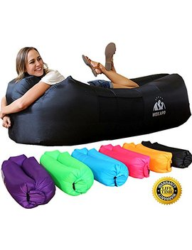 wekapo-inflatable-lounger-air-sofa-hammock-portable,water-proof&-anti-air-leaking-design-ideal-couch-for-backyard-lakeside-beach-traveling-camping-picnics-&-music-festivals by wekapo